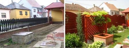 Előtte-utána kertképeink